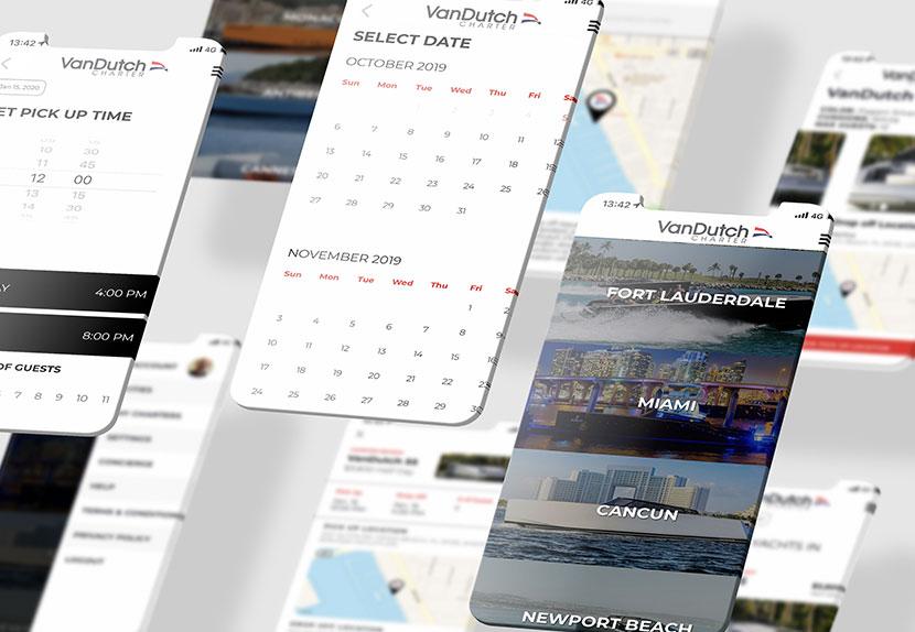 VanDutch Charter Mobile App
